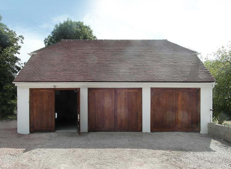 Impact 3 bay garage with 1st floor20130724 0010 for Three bay garage